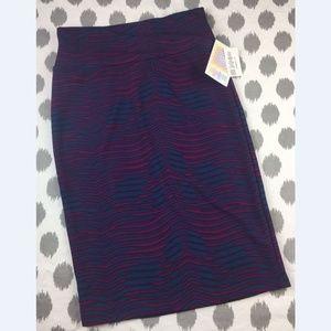 Lularoe Cassie Skirt NWT Pencil Career Stripes New
